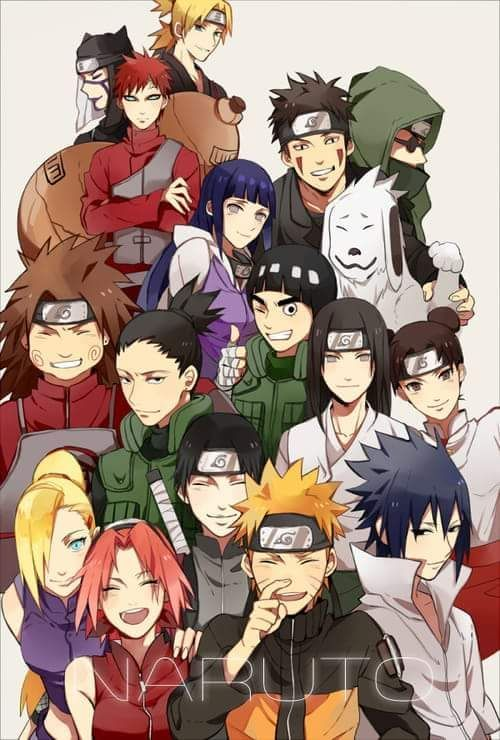 Naruto all seasons